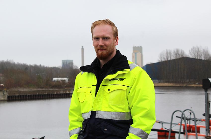Torbjörn Wikberg, lokalt ansvarig för Havators depå i Köping.